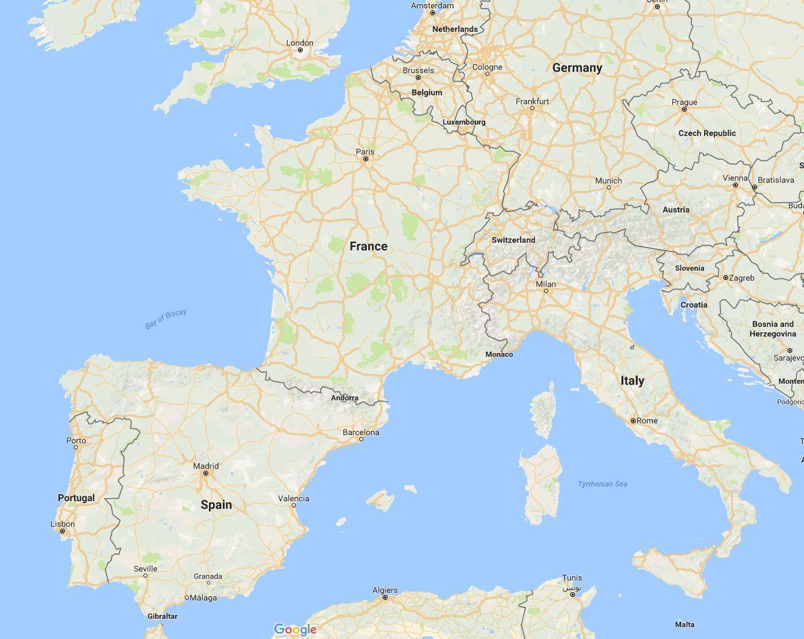 Europe 2016 Trip