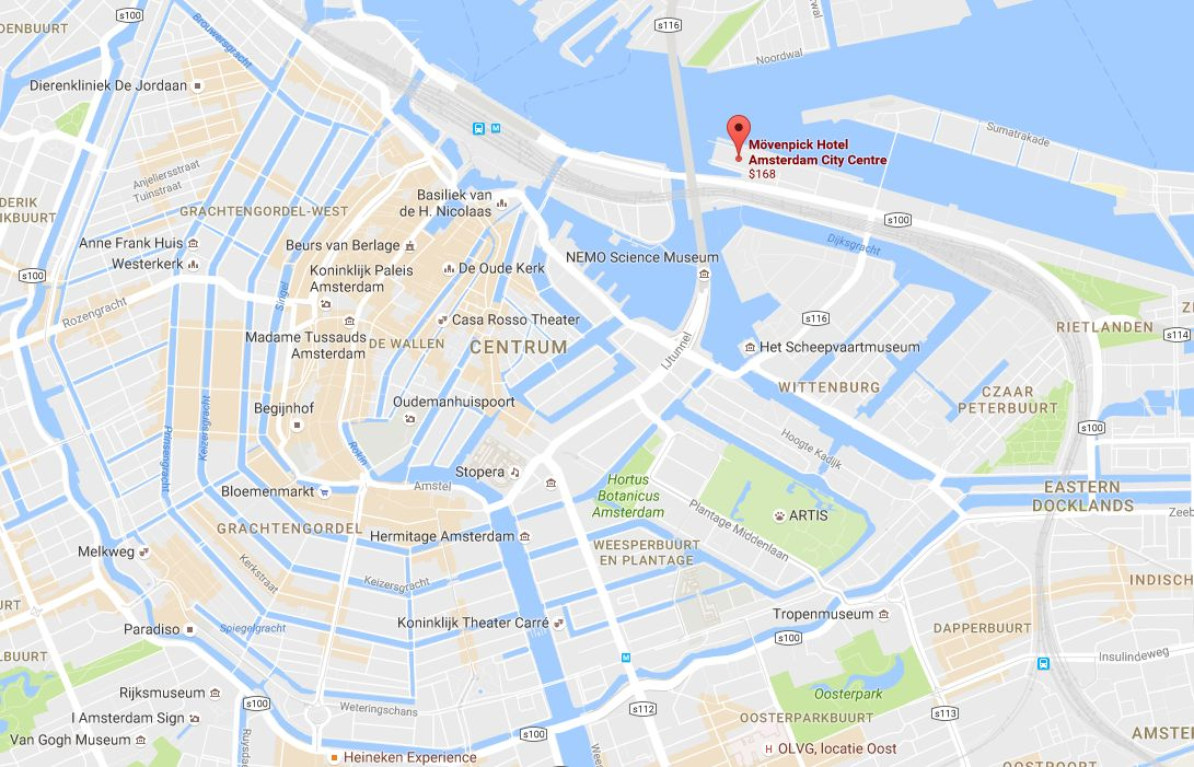 Europe 2016 Trip Day 5 – Amsterdam
