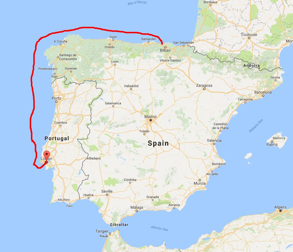 Europe 2016 Trip Day 11 – Lisbon Portugal